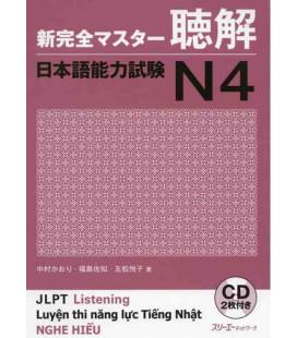 New Kanzen Master JLPT N4 : Listening (Contient 2 CDs)