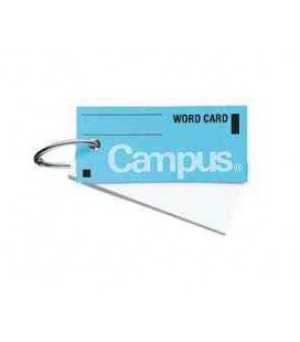 Mini cartes de vocabulaire - Campus Kokuyo (85 feuilles - Couverture bleue)