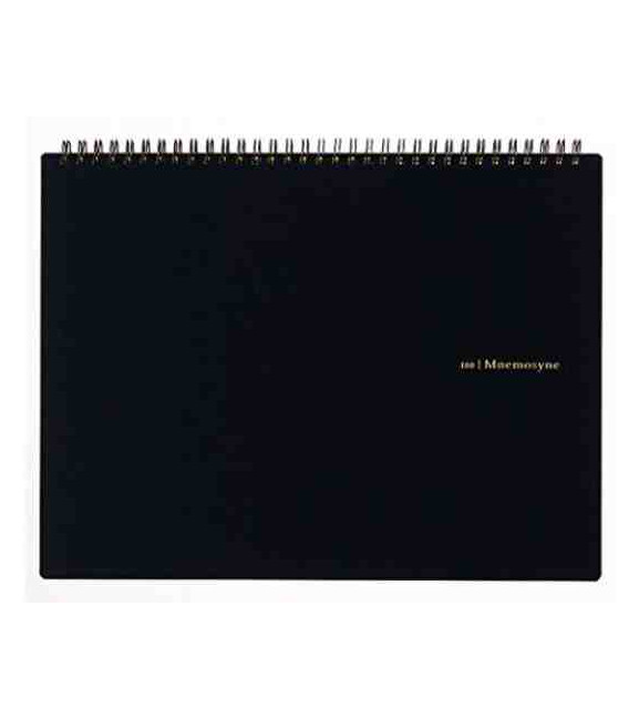 Maruman Mnemosyne Notebook N180A (Format A4) - Quadrillé 5 mm