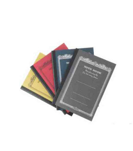 Apica CD9 Notebook - Format A7 (lot de 4 carnets / couleurs assorties)