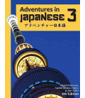 Adventures in Japanese, Volume 3 - Textbook (Hardcover) - 4th edition (Audios à télécharger)