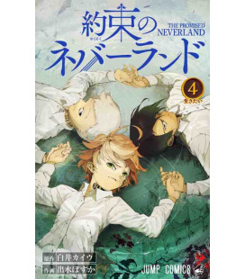 Yakusoku no nebarando (The Promised Neverland) Vol. 4