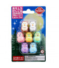 Iwako Puzzle Eraser - Lucky Owl - (Mini-gommes figurines) Made in Japan