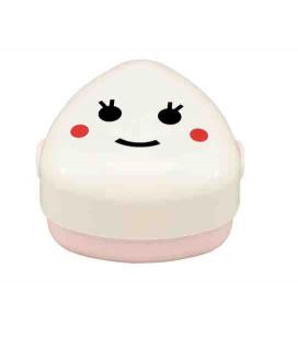 Hakoya Happy Family - Onigiri Bento Taille M - Modèle 50449-1 : Kome (couleur rose)