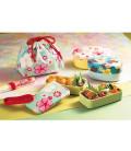Hakoya Sakura Bento Bag - Modèle 33676-4 (Fleur de cerisier rose)