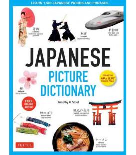 Japanese Picture Dictionary (Ideal for AP & JLPT Exam Prep) - -Incl. Audio/MP3 à télécharger