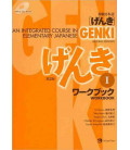 Genki: An Integrated Course in Elementary Japanese 1 - Workbook (2º édition / CD-Rom MP3 inclus)