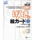 Genki: An Integrated Course in Elementary Japanese 1 - Picture Cards on CD-Rom MP3 (2º édition)
