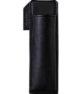 Porta bolígrafos magnético japonés de cuero - Modelo Pensam 2001 (Black) - Color negro