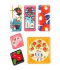 Kurochiku - Pack de 6 aimants décoratifs japonais - Tsubaki