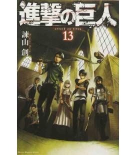 Shingeki no Kyojin (L'Attaque des Titans) Vol. 13
