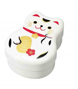 Hakoya Maruko Bento - modèle 50820 - chat blanc