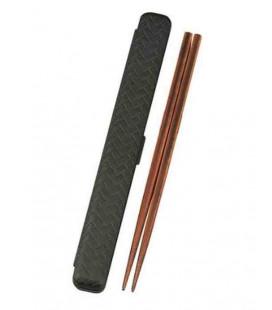 Bâtons avec étui - modèle 33052 - Set Kuro (Noir)