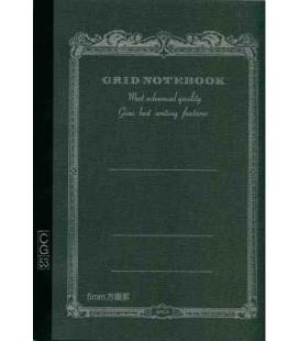 Apica CG53-BK Notebook (Format A5 - Couleur noire - carreaux - 52 pages)