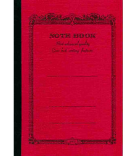 Apica CD20 - Notebook (Format B6 - Couverture rouge - 64 pages - Ligné)