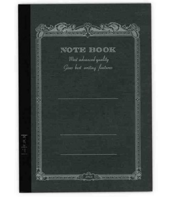 Apica CD20 - Notebook (Format B6 - Couverture noire - 64 pages - Ligné)