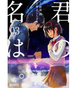 Kimi no Na wa Vol. 3 - Version Manga (Edition japonaise)