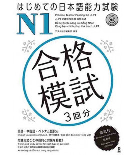 Practice Test for Passing the JLPT - N1 (Incl. Audio/MP3 à télécharger)