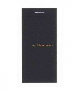 Maruman Mnemosyne Notebook - N161 (Format A8 - 5 mm Carreaux - 65 Pages)