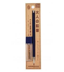 crayon mécanique Japonais (boîtier en bois) Kitaboshi - Modèle Indigo