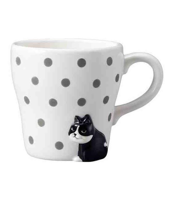 Decole - Furimuki mug cat