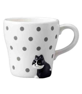 Decole - Furimuki mug cat