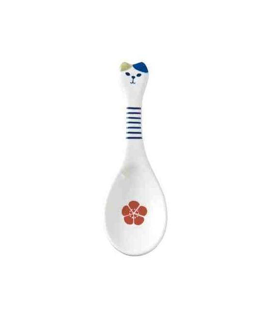 Decole - Ceramic Neko Spoon - Azul