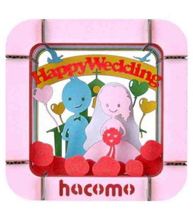 Hacomo - Carte - Happy Wedding