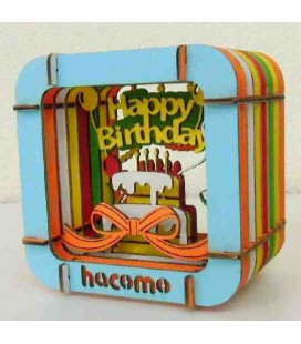 Hacomo - Carte - Happy Birthday