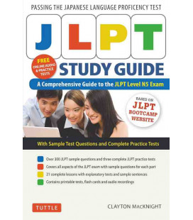 JLPT Study Guide - A Comprehensive Guide to the JLPT Level N5 Exam (Incl. Audio/MP3 à télécharger)