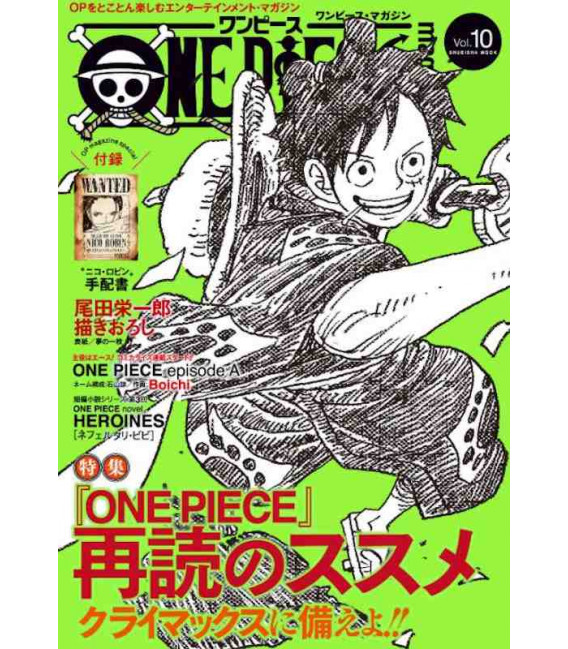 One Piece Magazine Vol. 10