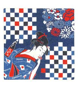 Bandana Japonais Kurochiku - Modèle Bijinga