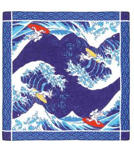 Bandana Japonais Kurochiku - Modèle Namifuji