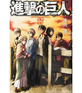 Shingeki no Kyojin (El ataque de los titanes) Vol. 17