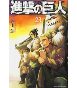 Shingeki no Kyojin (L'Attaque des Titans) Vol. 23
