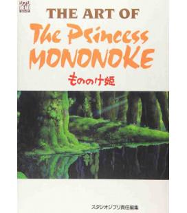 The Art of Princess Mononoke - Livre d'images de film