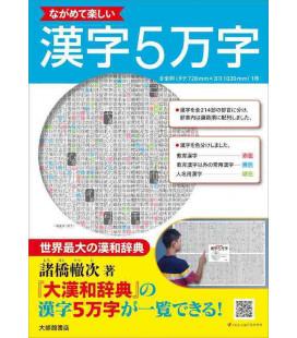 Enjoy looking at 50,000 Kanji - affiche de kanji