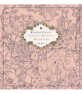 Shiawase no menuetto - Menuet de bonheur - Livre de coloriage
