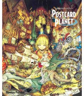 Posuka Demizu Art Work - Postcard Planet
