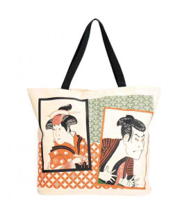 Sac en toile japonais Kurochiku - Modèle Multi-Art Actor Picture - 100% polyester