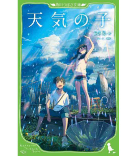 Tenki no ko (Weathering with You) Roman japonais écrit par Makoto Shinkai - édition avec Furigana