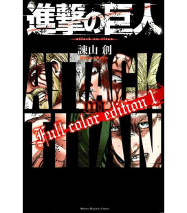 Shingeki no Kyojin (L'Attaque des Titans) Full color edition 1