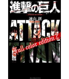 Shingeki no Kyojin (L'Attaque des Titans) Full color edition 2