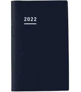 Jibun Techo Kokuyo - Agenda Semainier 2022 - Biz Diary - A5 Slim - Noir