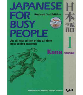 Japanese for Busy People 1. Kana Version (Revised 3rd. Edition) - CD inclus
