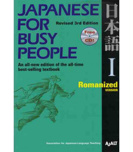 Japanese for Busy People 1. Romanized Version (Revised 3rd. Edition) - CD inclus