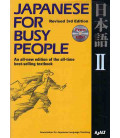 Japanese for Busy People 2. Kana Version (Revised 3rd. Edition) - CD inclus