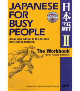 Japanese for Busy People 2. The Workbook (Revised 3rd. Edition) - CD inclus