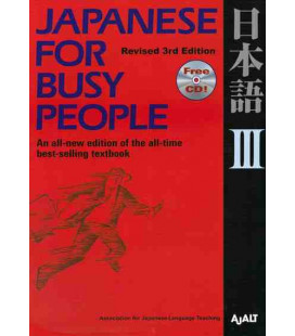 Japanese for Busy People 3. Kana Version (Revised 3rd. Edition) - CD inclus