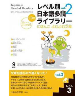 Japanese Graded Readers, Level 3 - Volume 2 (CD inclus)